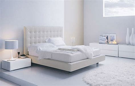 Contemporary White Bedroom Furniture | modern home interior design adjustments white modern
