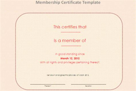 llc membership certificate template word membership certificate template 23 free word pdf