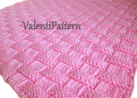 Easy Beginner Baby Blanket Knitting Patterns by Free Knitting Patterns Beginners Will Find Simple