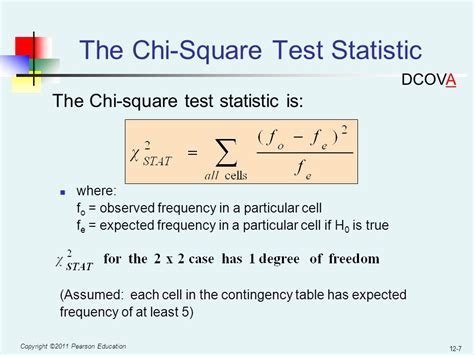 chi test chapter 12 chi square tests and nonparametric tests ppt