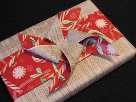 Bows Out Of Wrapping Paper - wrapping paper and bow conservation