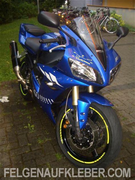 Felgenaufkleber Motorrad Yamaha by Felgenrandaufkleber Und Felgenaufkleber F 252 R Yamaha Motorr 228 Der