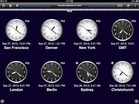 world clock for ipad is world class the mac observer