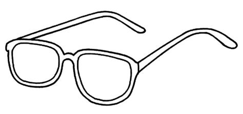 eyeglasses coloring pages eyeglasses pages coloring pages