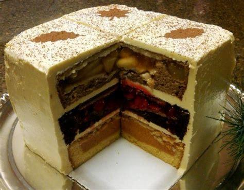 piecaken meet your master i present the cherpumple three layers of pumpkin cherry and