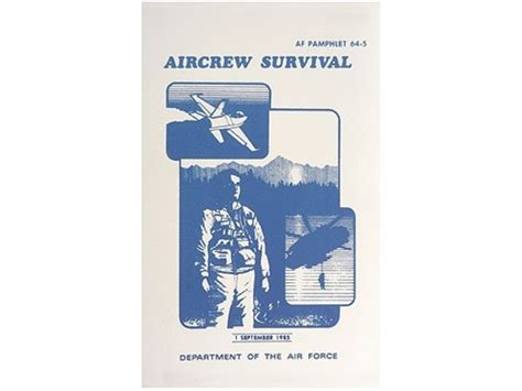 by order of the air force manual 65 604 air crew survival military manual by department of the air
