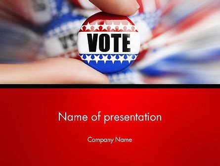 Government And Politics Powerpoint Presentation Templates Political Caign Templates Free