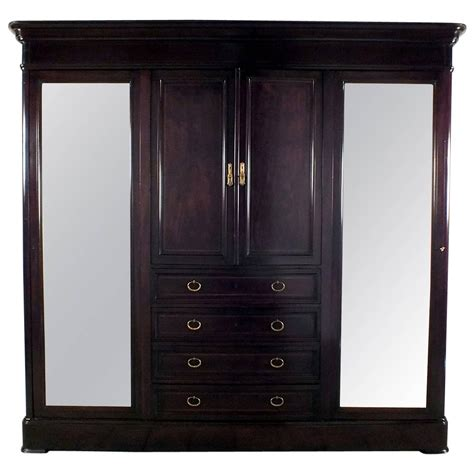 furniture armoire wardrobe antique french large louis xvi armoire or wardrobe for