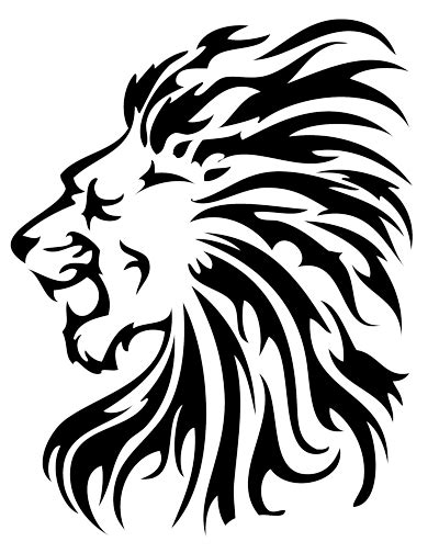 tattoo vector png 18 magnificent tribal lion tattoo only tribal