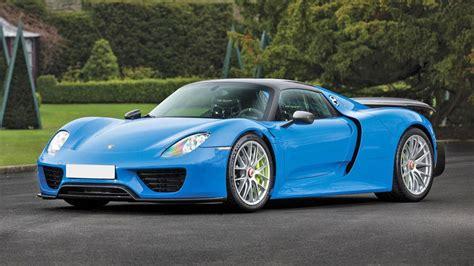 porsche 918 spyder blue classified of the week the perfect porsche 918 spyder