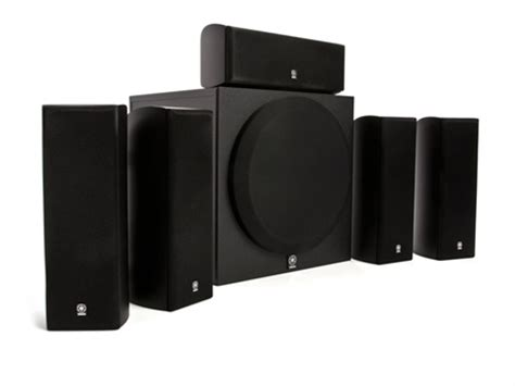 dealmoon yamaha 5 1 home theater speaker system with
