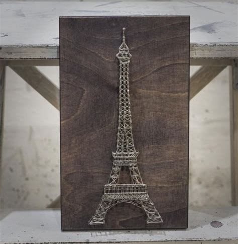 Eiffel Tower String - 25 best ideas about eiffel tower painting on