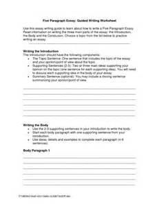 Essay Writing For Worksheet by 16 Best Images Of Essay Format Worksheet 5 Paragraph Essay Outline Worksheet Research Essay