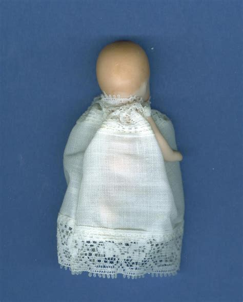 3 inch porcelain doll made 3 inch porcelain baby doll signed by artist