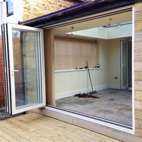 Bifold Patio Doors Upvc 6ft White Upvc Bifold Folding Door Set Flying Doors
