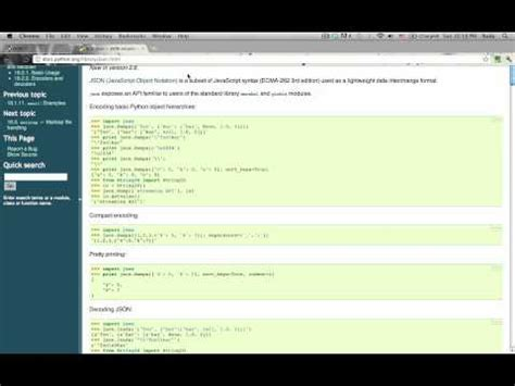 json tutorial for python json python tutorial python tutorial 14 working with json