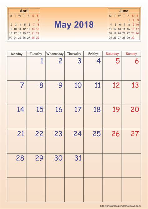 calendar template portrait printable calendar template