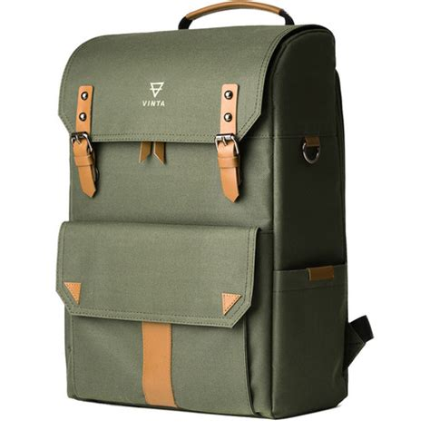 B Internationals Capriccio Laptop Bag The Bag by Vinta S Series Backpack Travel Bag Forest Sf T01 B H Photo