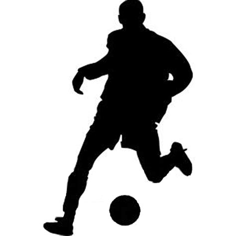 football ball silhouette vector silhouette football player cliparts co