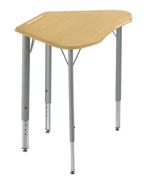 Office Furniture Desks 1365873 Ki Intellect Wave 4 Leg Adjustable Student Desk