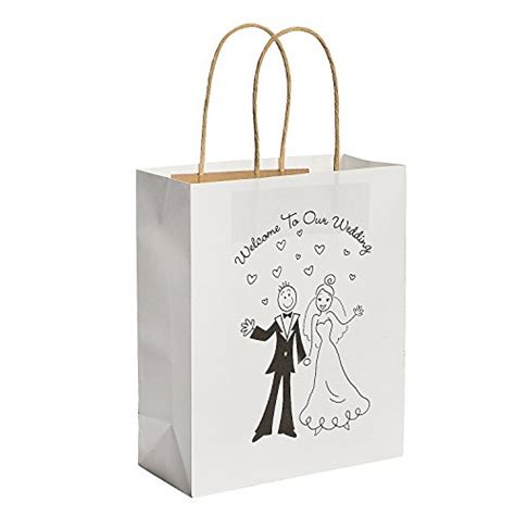 black wedding gift bags wedding gift bags for hotel guests