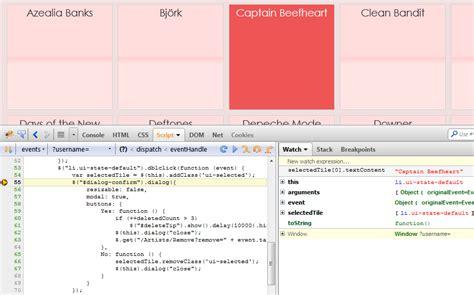 tutorial debug javascript with firebug what s new music life beyond fife