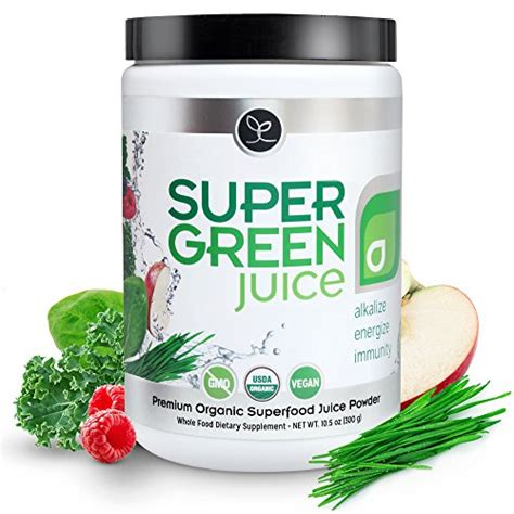 Superfood Detox by Green Juice Usda Organic Superfood Powder