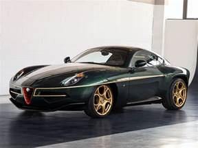 Alfa Romeo Green Geneva Preview Alfa Romeo Disco Volante In Green