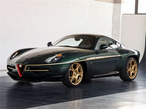 disco volante alfa price geneva preview alfa romeo disco volante in green