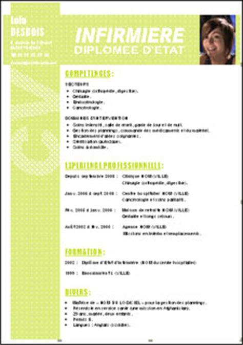 Créer Un Modèle De Lettre Word 2010 Resume Format Mod 232 Le De Cv Infirmier Gratuit