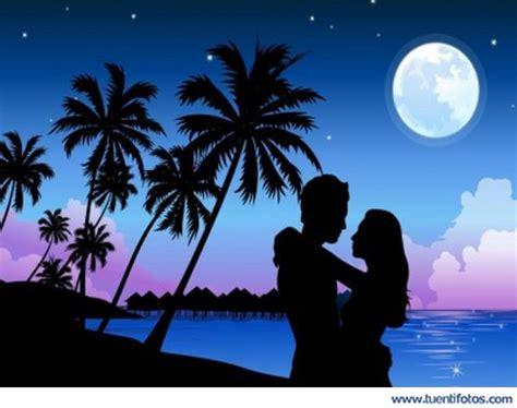 imagenes romanticas de la noche noche de amor en la playa