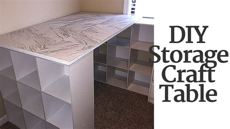 craft table with storage diy craft table with storage