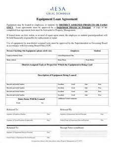 Sle Agreement Letter For Lending Equipment Best Photos Of Employee Equipment Agreement Form Employee Equipment Loan Form Employee