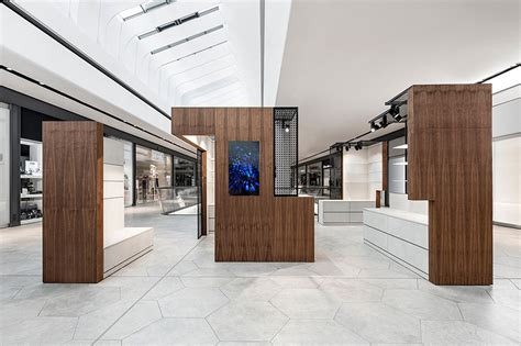 designboom retail dia dittel architekten thinks outside the box for pop up