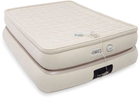 aero beds aero luxury collection 24 inch raised mattress style pillowtop inflatable bed