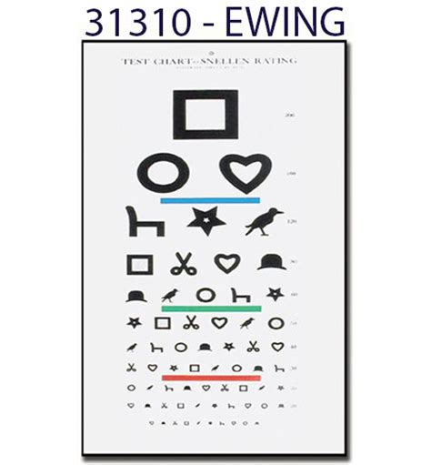 tavole optometriche tavola ottometrica non luminosa mod tumbling snellen