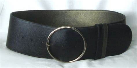 s wide leather belts