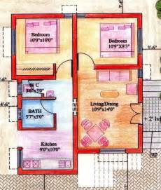 House Design For 2bhk by Floor Plans West Facing House Vastu Trend Home Design
