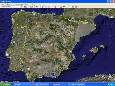 imagenes sorprendentes vistas desde el satelite espa 241 a vista desde google hearth reino de valencia