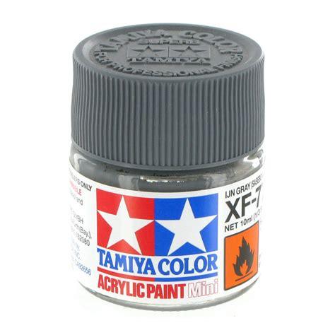 acrylic paint grey tamiya colour acrylic paint xf 77 sasebo grey 10ml