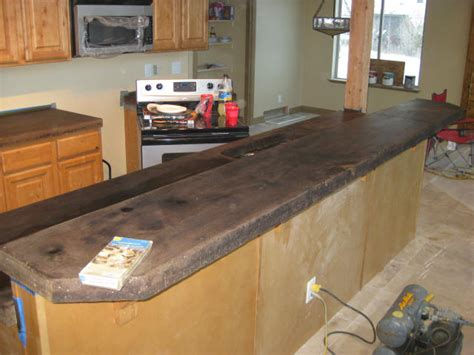Staining Concrete Countertops by Acid Staining Concrete Countertops