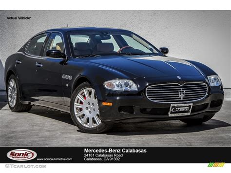 Black Maserati Quattroporte by 2006 Nero Black Maserati Quattroporte 107428561 Photo