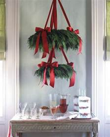 Garland For Banister 50 Beautiful Christmas Home Decoration Ideas From Martha