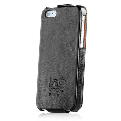 Exclusive Design Kulit For Iphone 5 5s Leather Black Or Brown pcaro 174 leather iphone 5 5s cover genuine rugged black