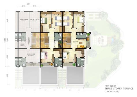 3 storey terrace house design botanica 5 penang property talk