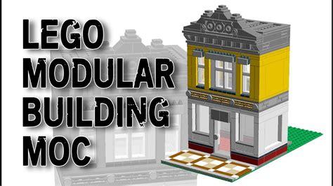 tutorial lego city lego city modular building moc how to build tutorial