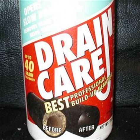 Enforcer Drain Care professional Build-Up Remover Reviews ... Enforcer Build Up Remover