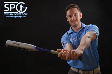 how do you swing a baseball bat swing your club like a baseball bat stephen packer