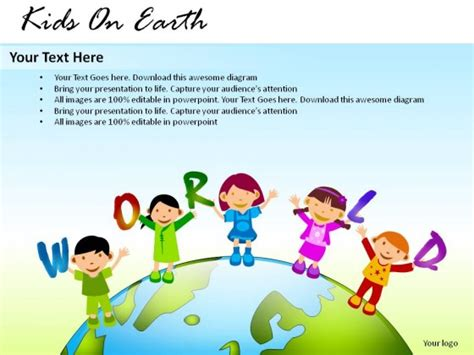 powerpoint tutorial for students kids on earth powerpoint presentation slides