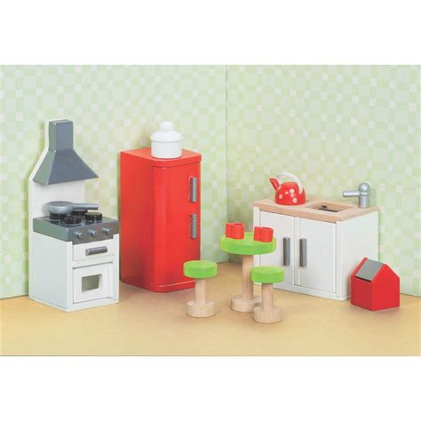 dolls house kitchen furniture le sugar plum kitchen wooden dolls house furniture jadrem toys